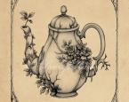 'Overgrown Teapot' - The Garden Tea Party series