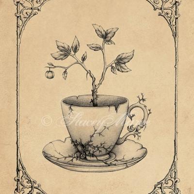 'Tea Time' - The Garden Tea Party seriesStacey Maree