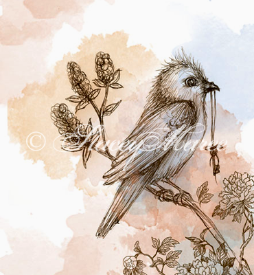 'The Bird' - The Woodland Creatures Stacey Maree