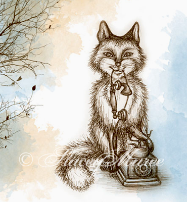'The Fox' - The Woodland Creatures series. Stacey Maree