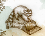 'The Raccoon' - The Woodland Creatures series.