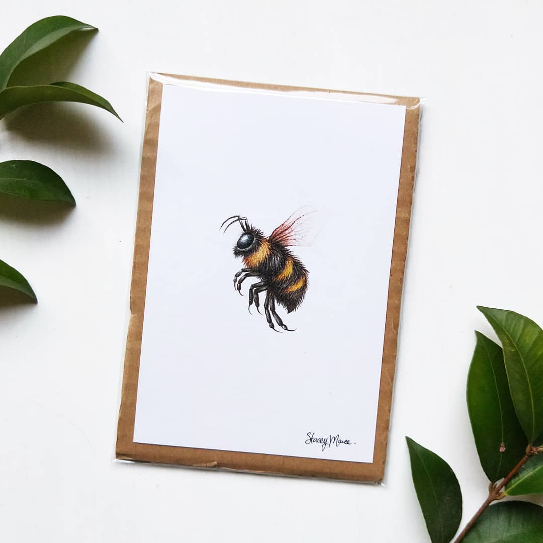 bee print stacey maree