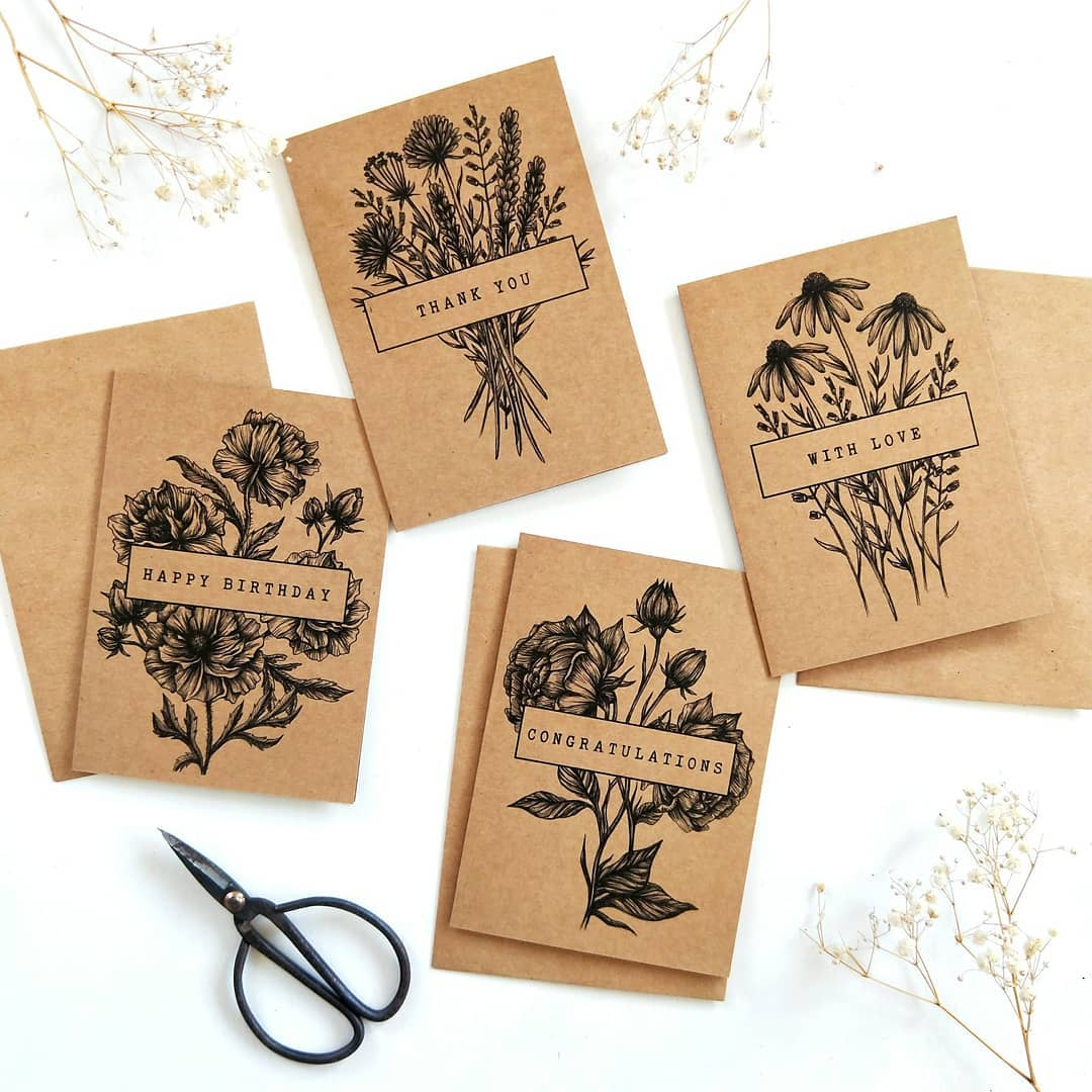 Stacey Maree - Wildflower Gift Cards