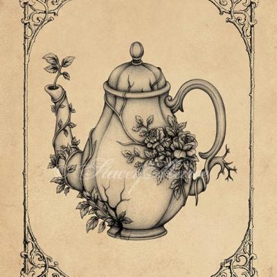'Overgrown Teapot' Stacey Maree