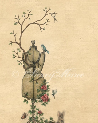 Birds and The Seams. Stacey Maree