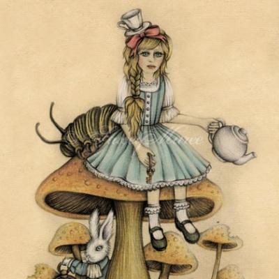 'Alice in wonderland' Stacey Maree